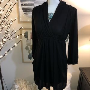 NWT. Bar III. Black dress.